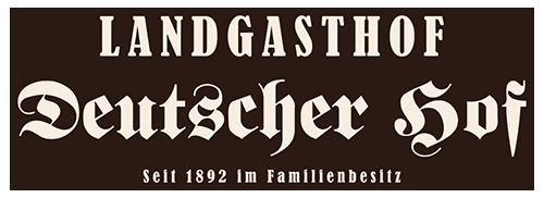 """Landgasthof """"Deutscher Hof"""" in Moßbach seit 1892 im Familienbesitz"""