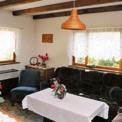 Ansicht Hotelzimmer mit Couch